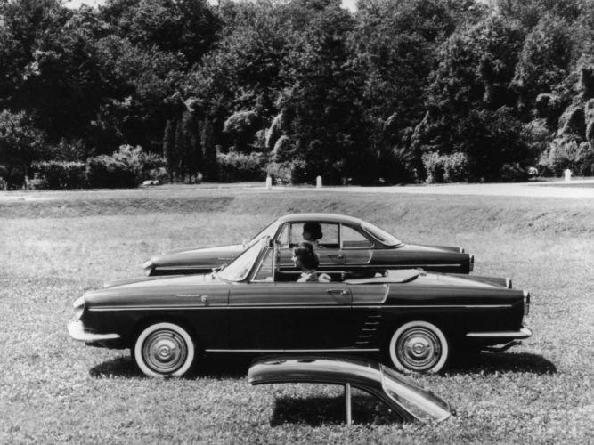 1958 Renault Floride Convertible retro g wallpaper
