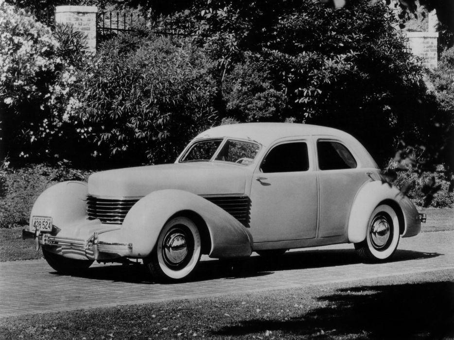 1935 Cord 810 Westchester Sedan Show supercar custum retro      g wallpaper