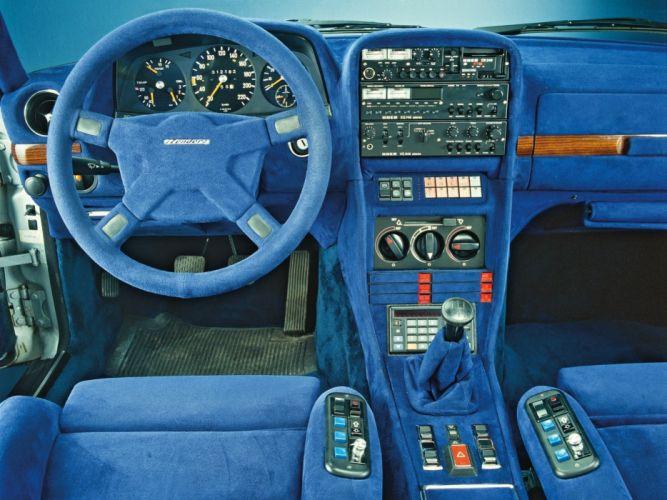 1980 Zender Mercedes-Benz 280 T-E (S123) stationwagon interior g wallpaper