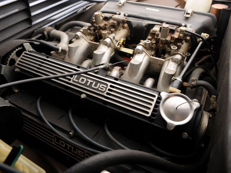 1980-82 Lotus Eclat S-2 (Typ- 84) supercar engine     g wallpaper