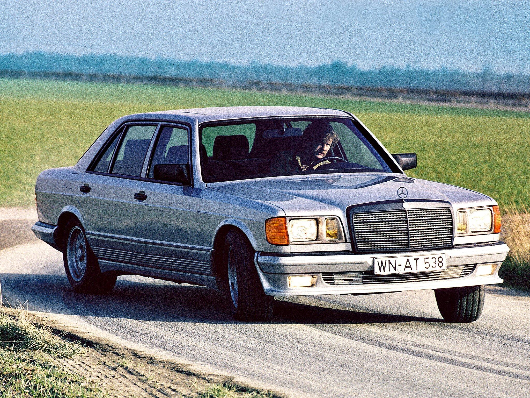 1981 Lorinser Mercedes Benz 500 Sel W126 E Wallpaper