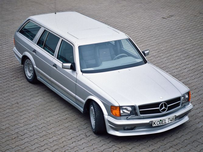 1983 Zender Mercedes Benz 500 SET stationwagon e wallpaper