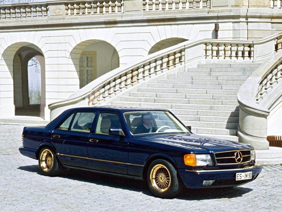 1985 Gemballa Mercedes Benz 1001 SEL (W126) tuning     f wallpaper