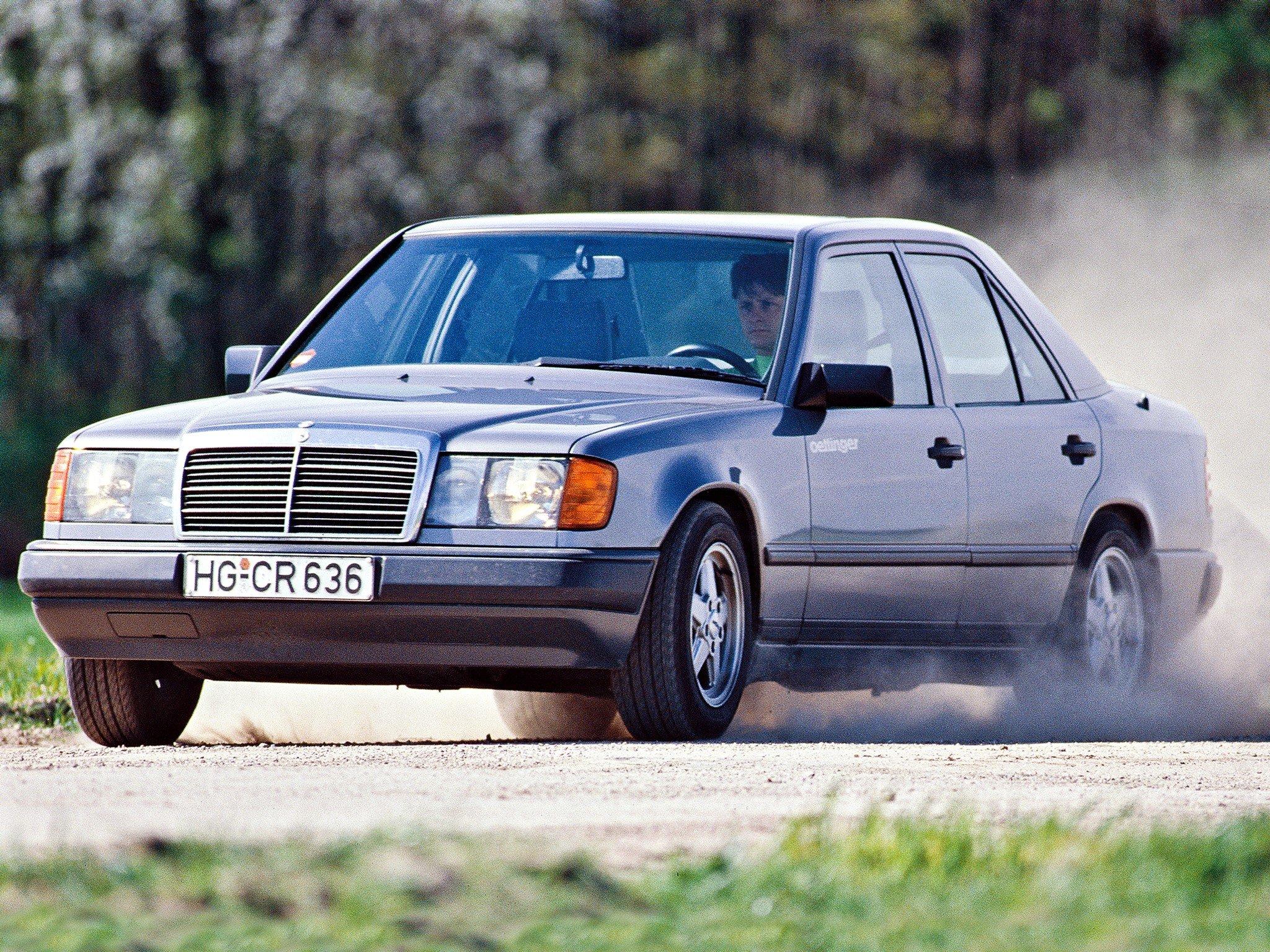 1988 Oettinger Mercedes Benz 300 E (W124) f wallpaper ...