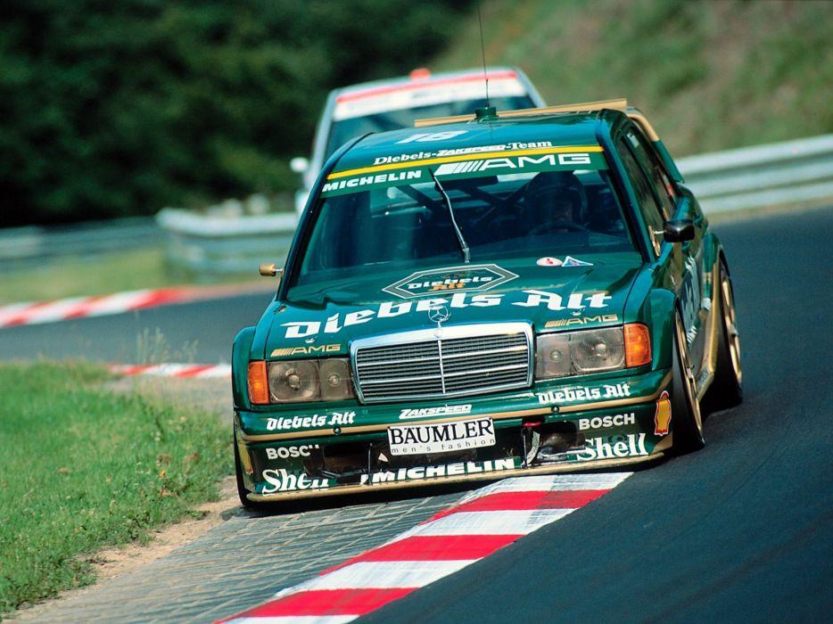 1991-93 Mercedes Benz 190E Evolution I-I DTM (W201) race racing 190     f wallpaper