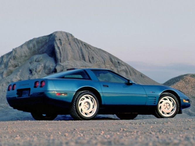 1991-95 Chevrolet Corvette ZR1 Coupe c-4 supercar muscle g wallpaper