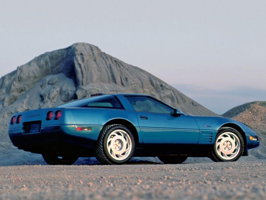1991-95 Chevrolet Corvette ZR1 Coupe c-4 supercar muscle    g wallpaper