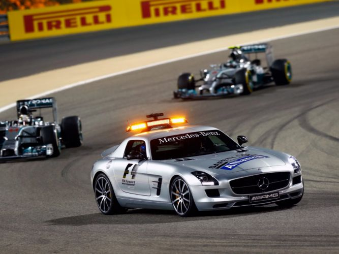 2013 Mercedes Benz SLS 6-3 AMG G-T F-1 Safety (C197) formula supercar race racing f wallpaper