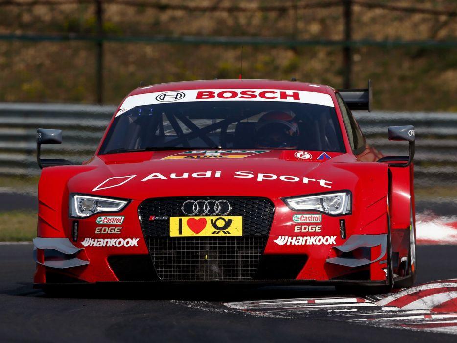 2014 Audi RS5 Coupe DTM race racing f wallpaper