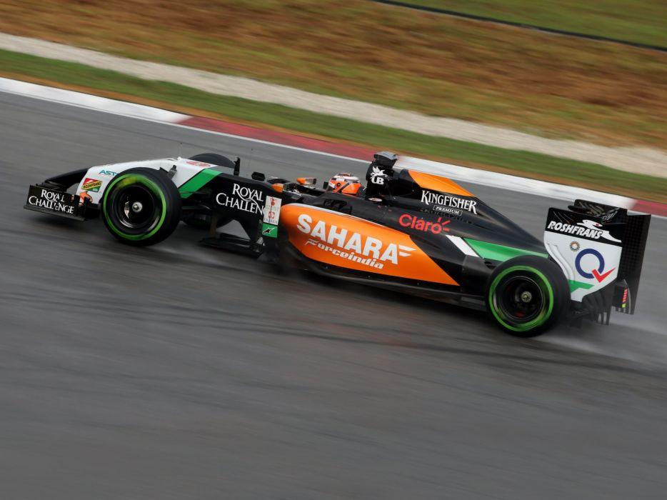 2014 Force India VJM07 F-1 formula race racing      g wallpaper