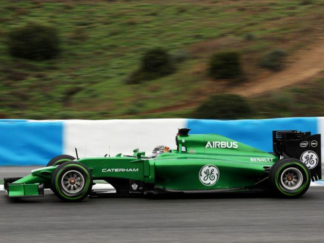 2014 Caterham CT05 formula f-1 race racing g wallpaper