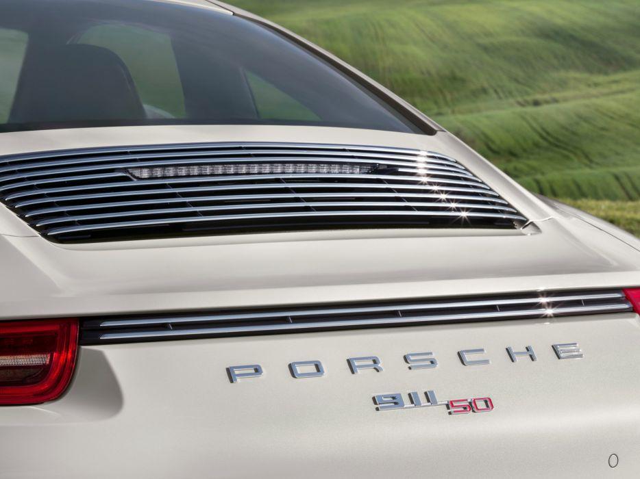 2014 Porsche 911 Carrera 50-Years-Edition (991) supercar   fs wallpaper