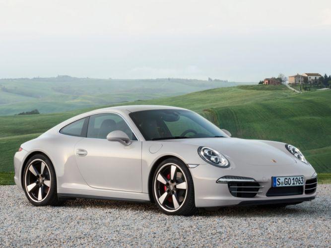 2014 Porsche 911 Carrera 50-Years-Edition (991) supercar g wallpaper