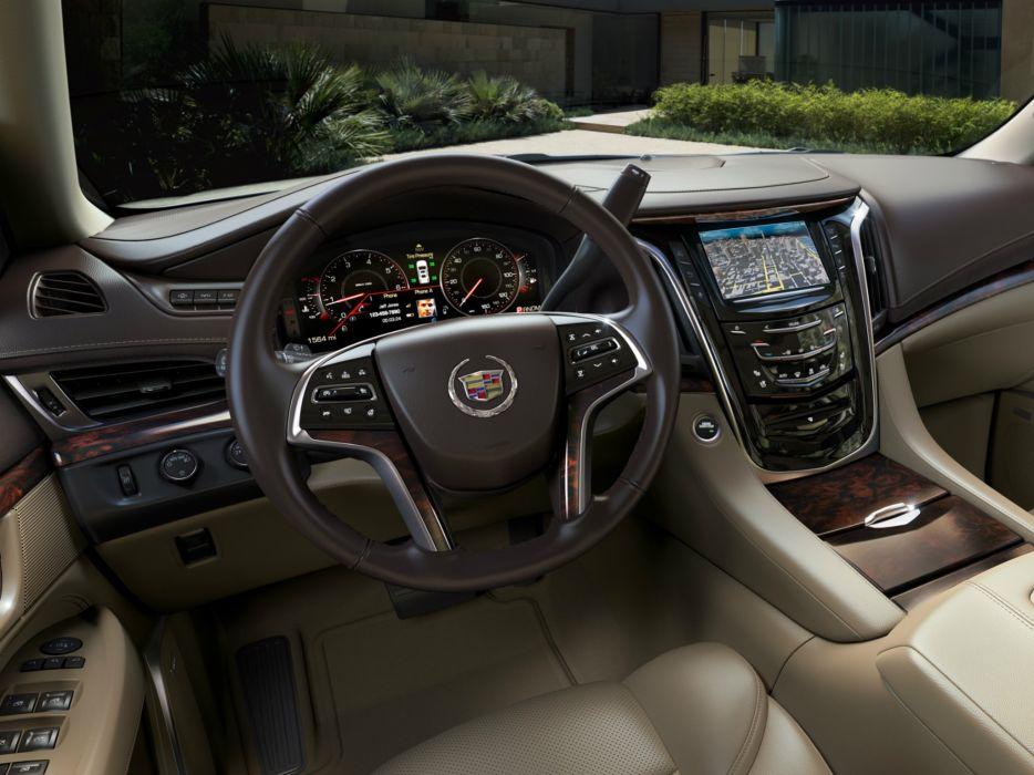 2015 Cadillac Escalade ESV suv luxury stationwagon      g wallpaper