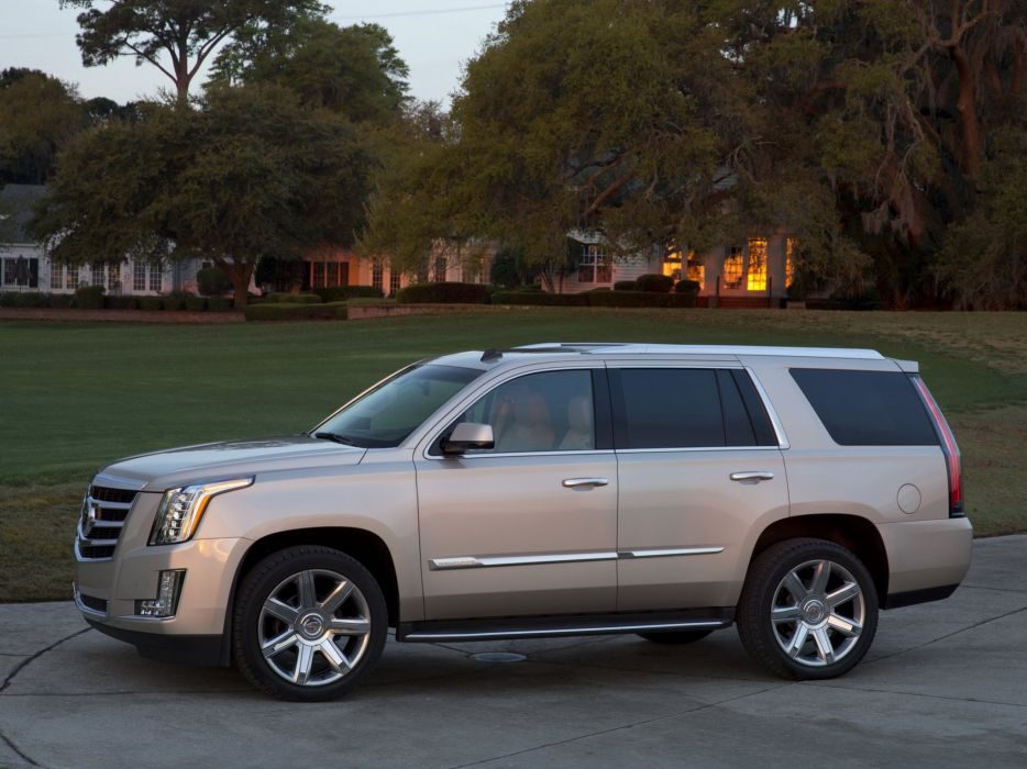 2015 Cadillac Escalade suv luxury  jf wallpaper