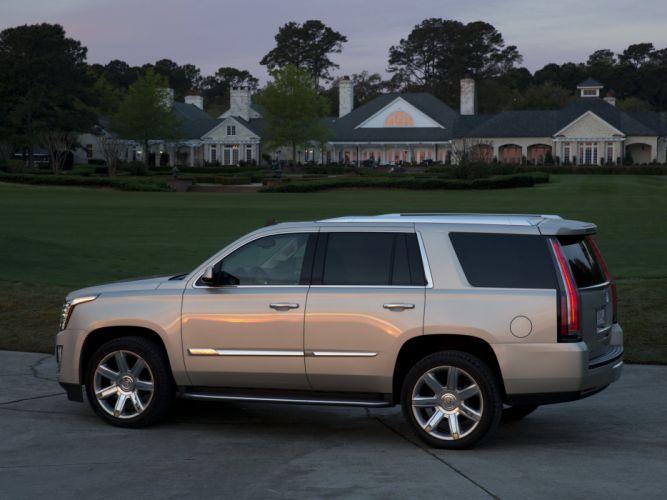 2015 Cadillac Escalade suv luxury stationwagon gr wallpaper
