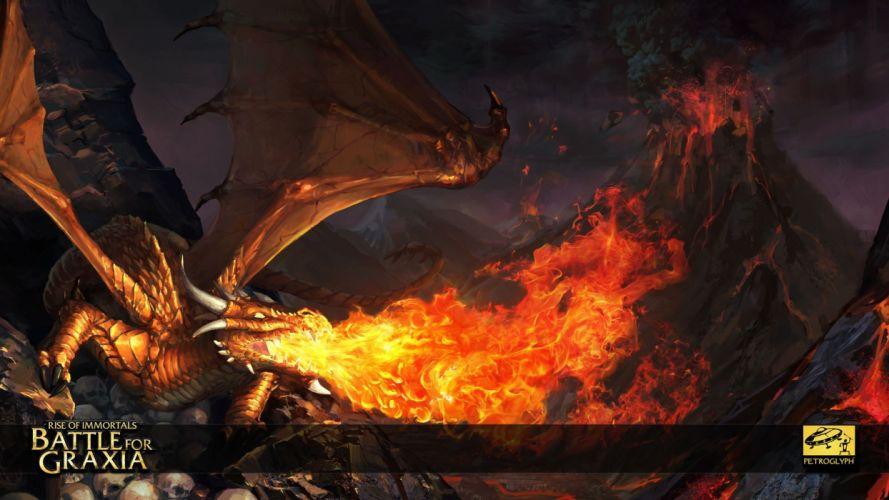 video games Immortals rise of immortals battle for graxia wallpaper