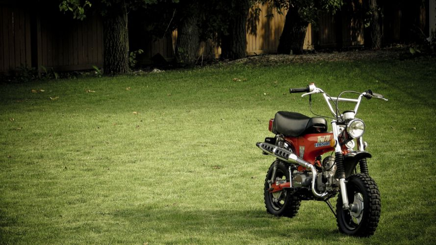 grass motorbikes wallpaper