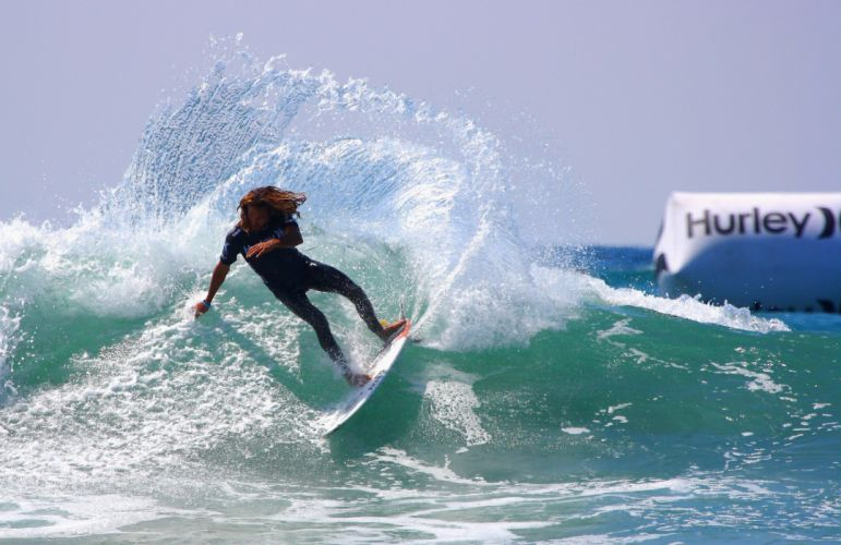 surfing surf ocean sea waves extreme surfer (20) wallpaper