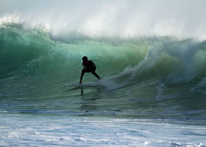 surfing surf ocean sea waves extreme surfer (5) wallpaper