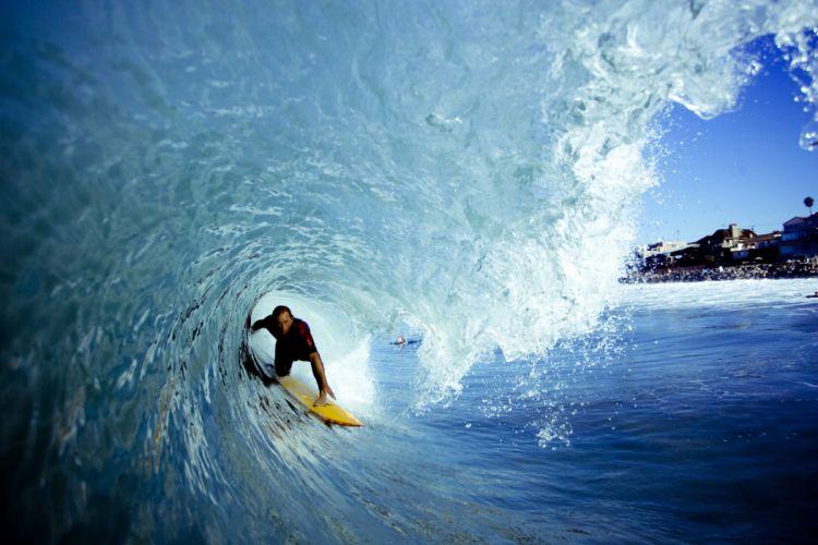 surfing surf ocean sea waves extreme surfer (41) wallpaper