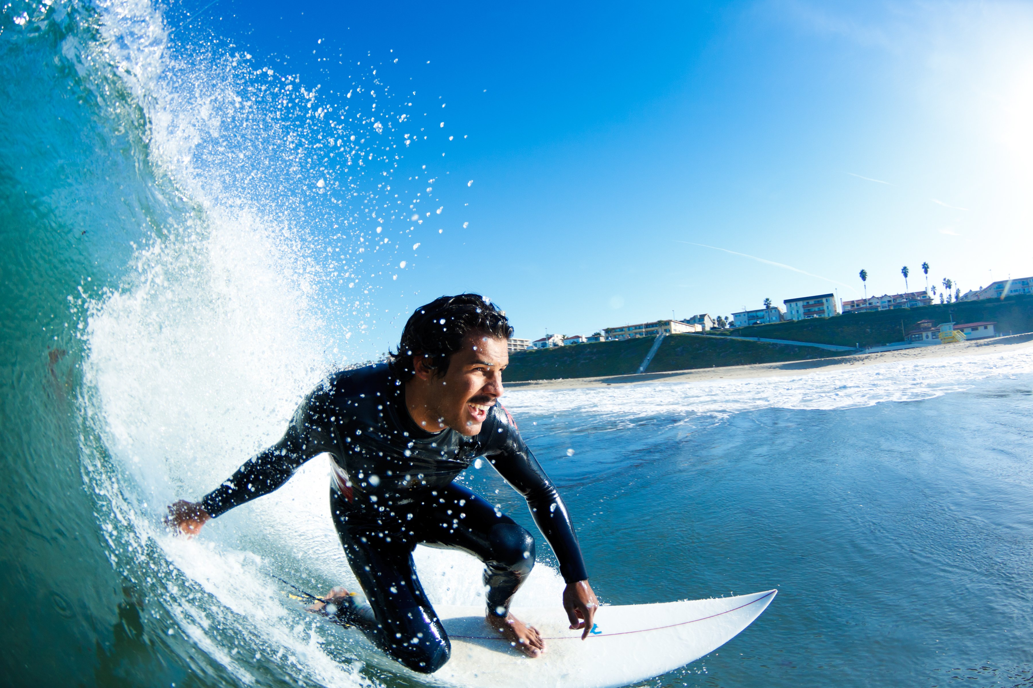 Extreme Surfing Wallpaper: Surfing Surf Ocean Sea Waves Extreme Surfer (38) Wallpaper