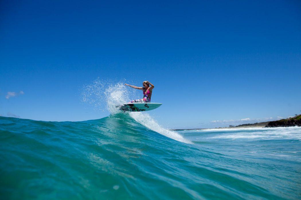 surfing surf ocean sea waves extreme surfer (24) wallpaper
