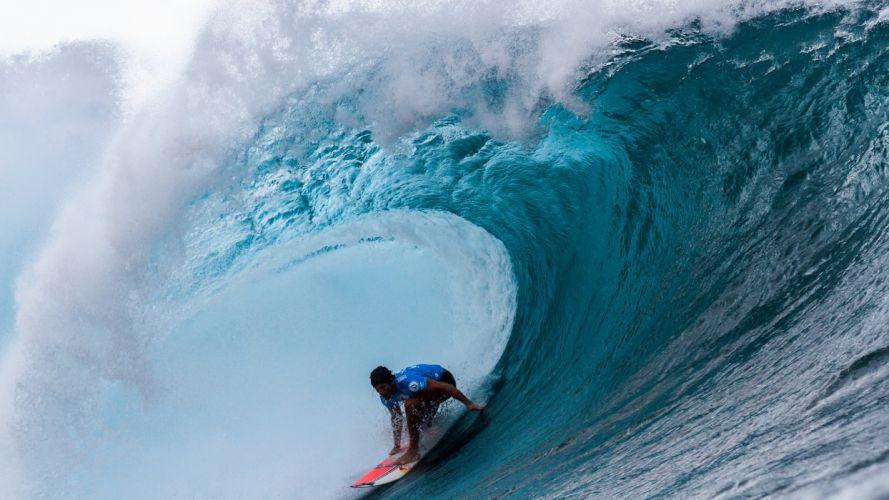 surfing surf ocean sea waves extreme surfer (67) wallpaper