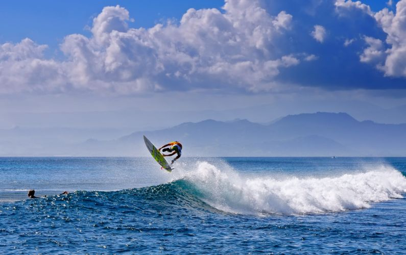 surfing surf ocean sea waves extreme surfer (57) wallpaper