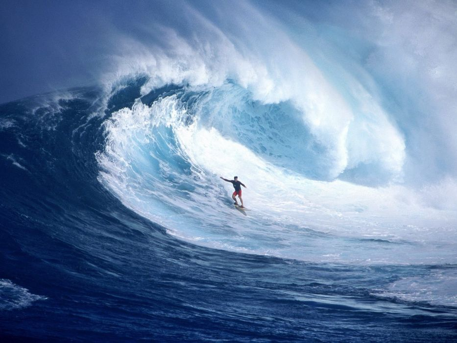 surfing surf ocean sea waves extreme surfer (48) wallpaper