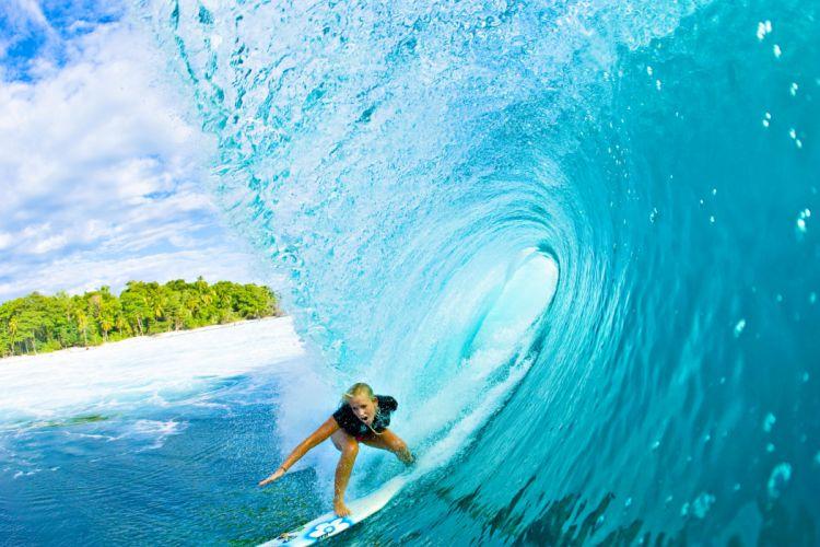 surfing surf ocean sea waves extreme surfer (47) wallpaper