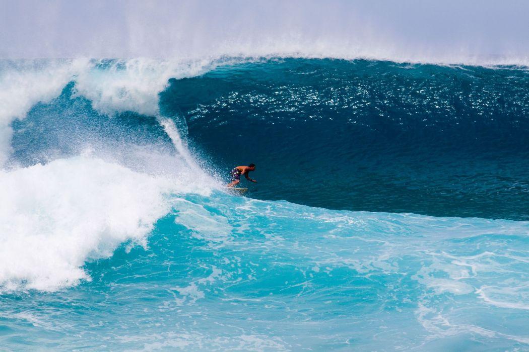 surfing surf ocean sea waves extreme surfer (56) wallpaper
