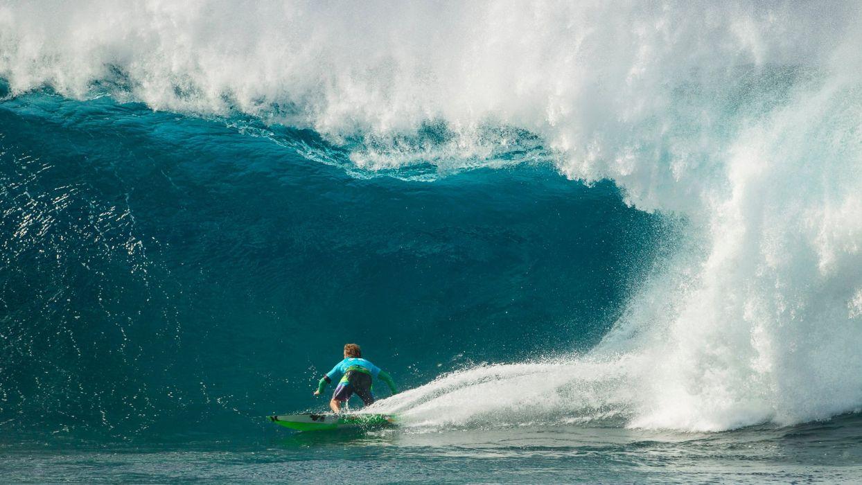 surfing surf ocean sea waves extreme surfer (80) wallpaper