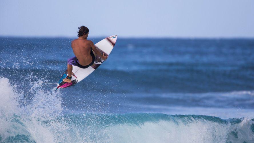 surfing surf ocean sea waves extreme surfer (74) wallpaper