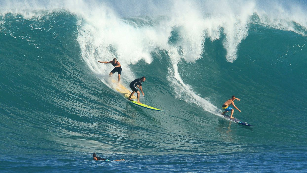 surfing surf ocean sea waves extreme surfer (71) wallpaper