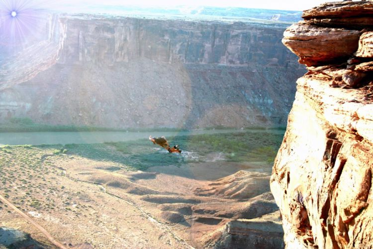 base jumping jump fly flight extreme dive diving sky (21) wallpaper