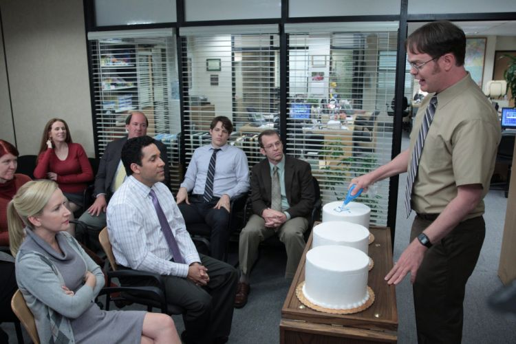 THE OFFICE sitcom comedy television series (16) wallpaper