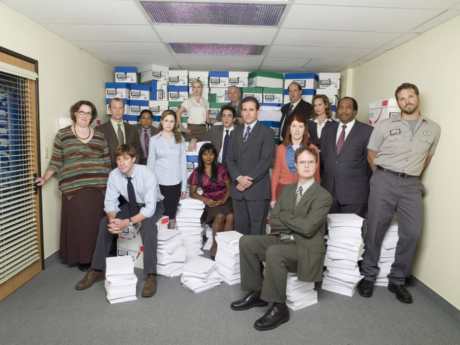 THE OFFICE sitcom comedy television series (18) wallpaper