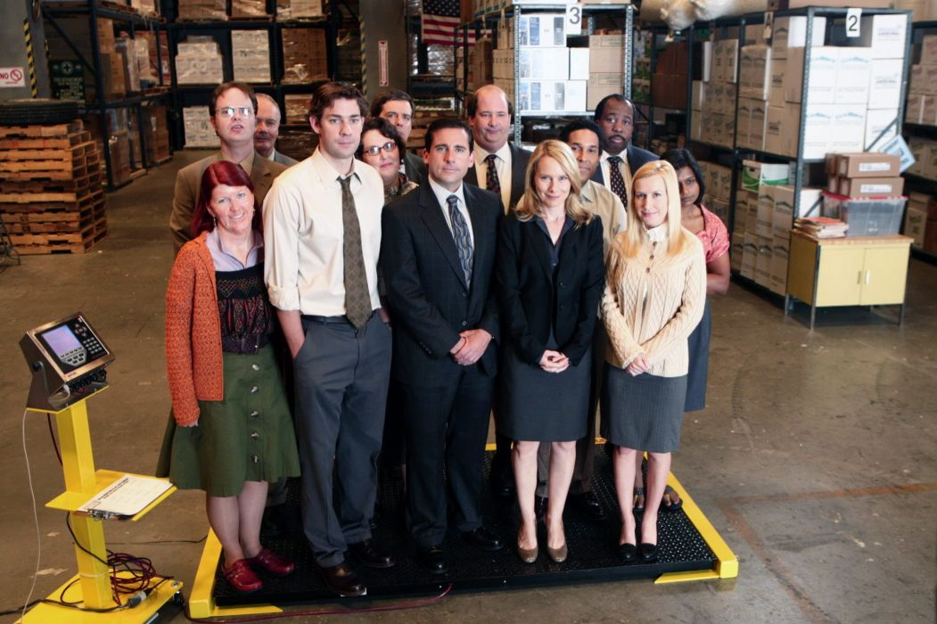 THE OFFICE sitcom comedy television series (33) wallpaper