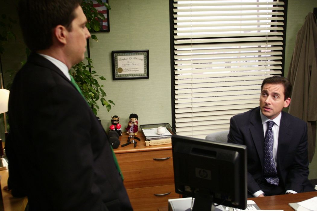 THE OFFICE sitcom comedy television series (28) wallpaper