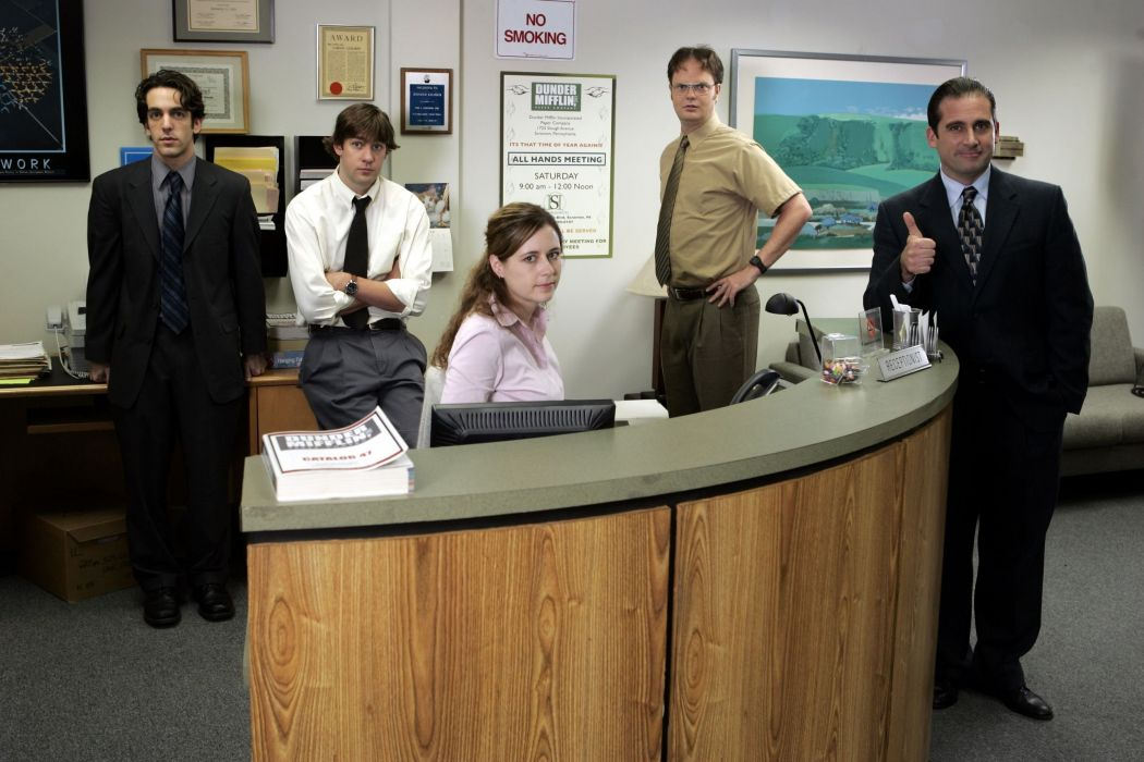 THE OFFICE sitcom comedy television series (23) wallpaper