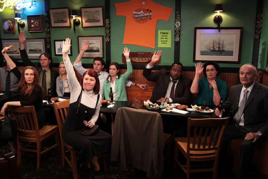 THE OFFICE sitcom comedy television series (53) wallpaper
