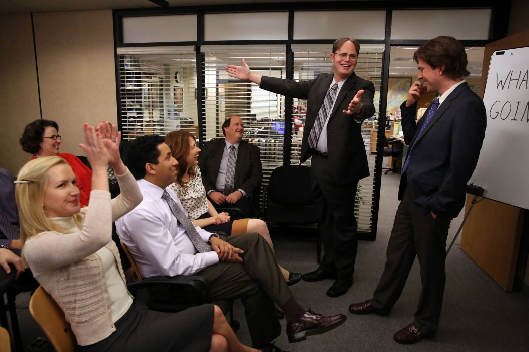 THE OFFICE sitcom comedy television series (54) wallpaper