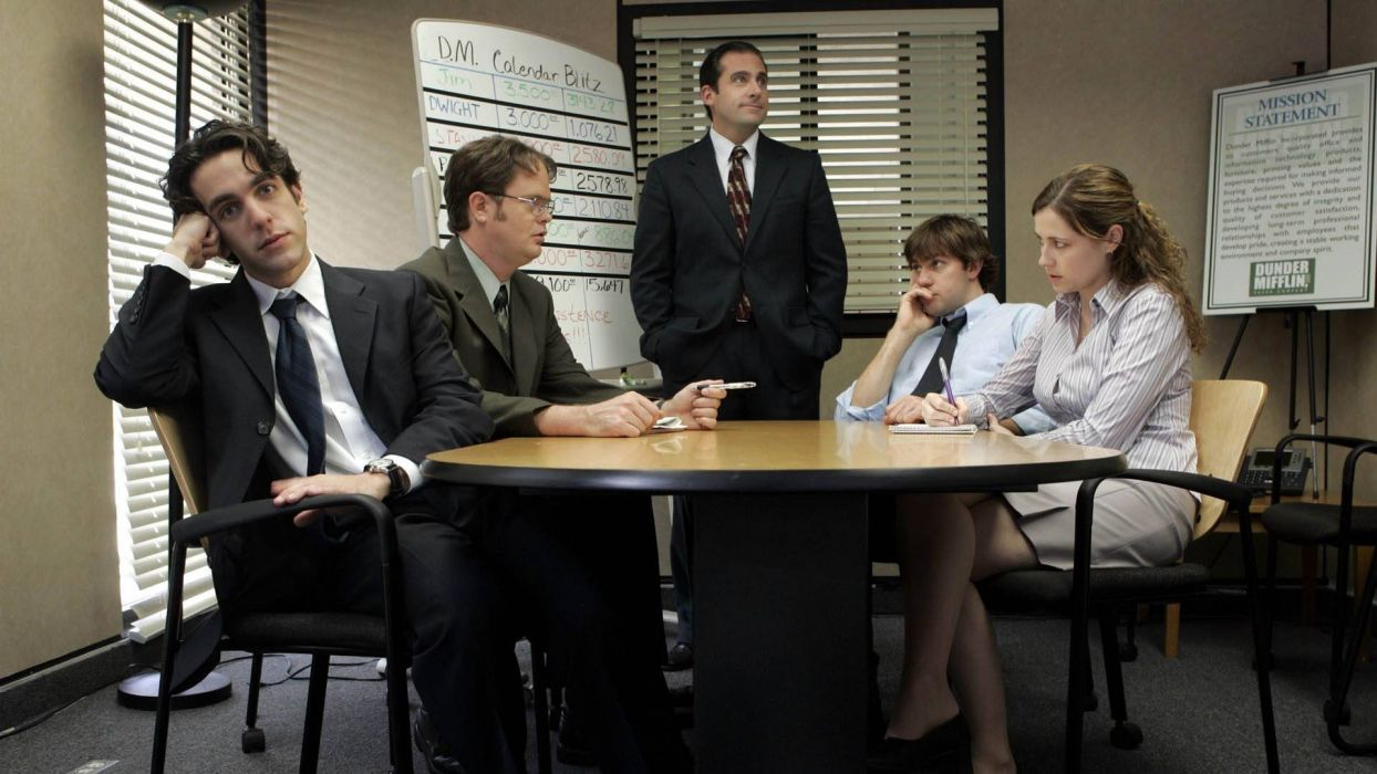 THE OFFICE sitcom comedy television series (59) wallpaper