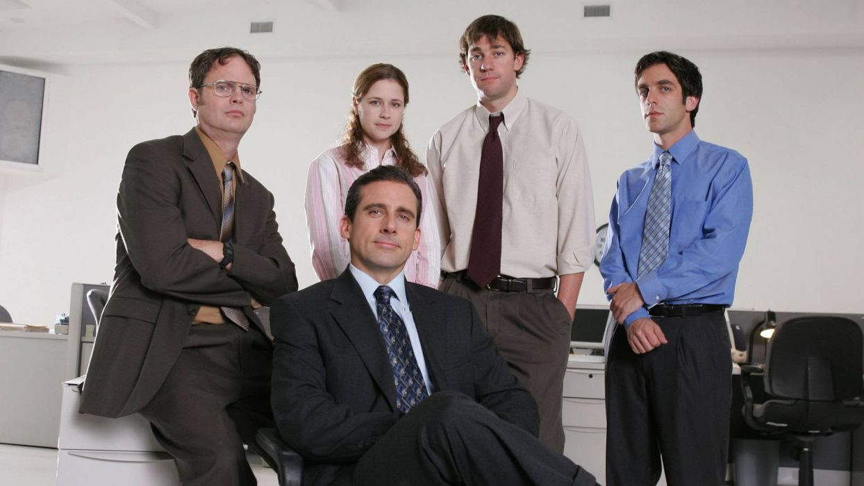 THE OFFICE sitcom comedy television series (61) wallpaper