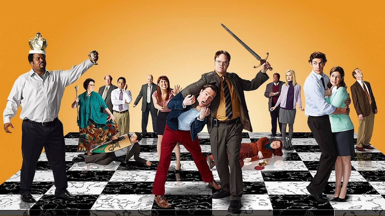 THE OFFICE sitcom comedy television series (62) wallpaper