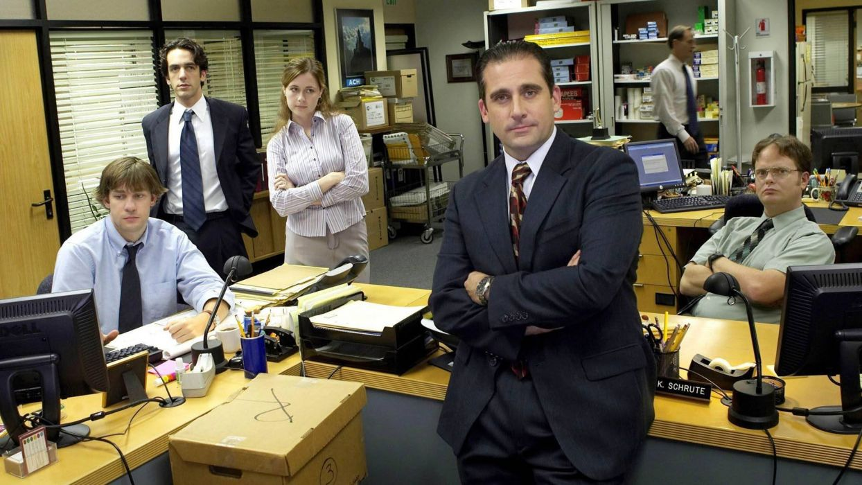 THE OFFICE sitcom comedy television series (60) wallpaper