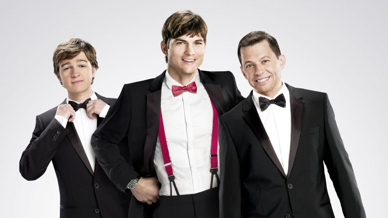 Two And A Half Men Comedy Sitcom Television Series Two Half
