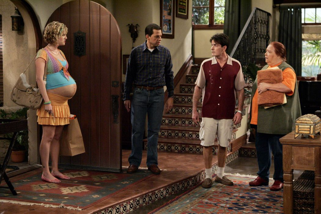 Two-And-A-Half-Men comedy sitcom television series two half men (59) wallpaper