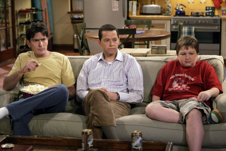Two-And-A-Half-Men comedy sitcom television series two half men (57) wallpaper